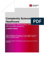 1. Braithwaite 2017 Complexity Science in Healthcare a White Paper