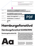 A2 Boing Font Specimen