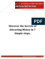How to attract money..