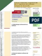 IAGP2 Metodologias de Desarrollo