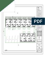 Block plan for proposed rental unit