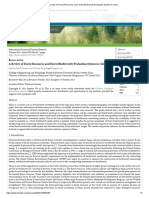A Review of Forest Resources and Forest Biodiversity Evaluation System in China