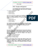 MGT503 Principles of Management UnSolved Final Term Paper 02