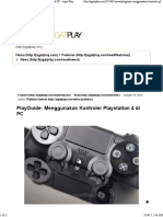 PlayGuide Playstation 4