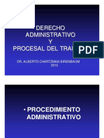 Derecho administrativo y procesal del trabajo