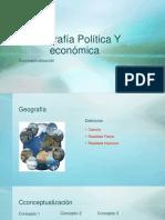 Geografía Política Y Económica Clase