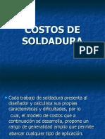 Costos de Soldadura Ppt2009