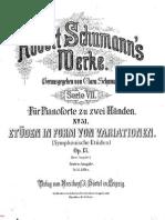 Schumann Op. 13