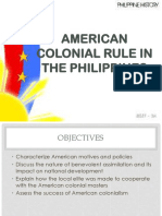 American Colonial Rule in the Philippines