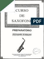 Apostila de Saxofone Preparatório vol 1