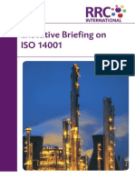 Executive Briefing on ISO 14001
