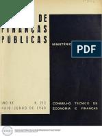 Revista de Finanças Públicas, Vol. 20, Nº 213, Maio-junho 1960