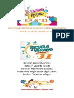 Protocolo de Seguridad en Medio y Actividades Acuatico