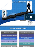 CampusVsCorporate Dharamraj