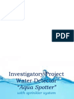 Water Detector PPT