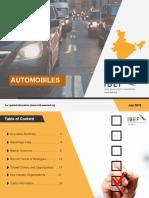 Automobiles July 2019