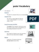 computer vocabulary