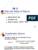 Ch 02 - Risk and Return.