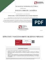 Diploma Estructura Funcionamiento Del Estado