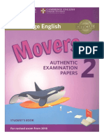 1movers 2 Authentic Examination Papers Student s Book