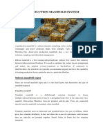Assignment #3 Subsea Manifold and Templates