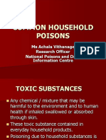 Household Poisons 2009