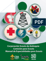 Manual de Especialidades Para Scouts