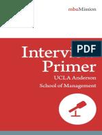 MbaMission UCLA Anderson Interview Primer 2018-2019