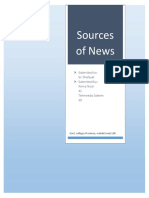 sources of News.docx