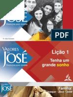 PPT Li├º├úo 1 - Valores de Jos├® - PT