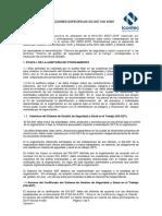 Guía desarrollo de auditorías ISO 45001