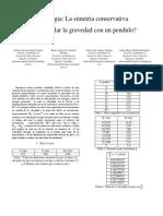 Informe_conservacion de La Energia Mecanica