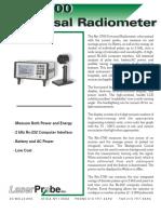 Radiometro laserprobe