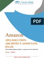AWS-SOLUTION-ARCHITECT-ASSOCIATE-EXAM