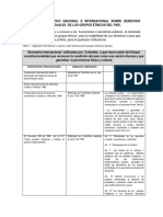 COMPENDIO NORMATIVO NACIONAL E INTERNACIONAL SOBRE DERECHOS COLECTIVOS E INDIVIDUALES DE LOS GRUPOS ÉTNICOS DE COLOMBIA
