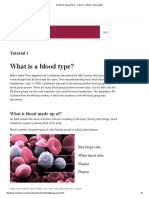 The Blood Typing Game - Tutorial 1_ What is a Blood Type