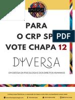 Chapa Diversa (PARA O CRP, VOTE 12)