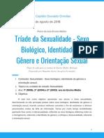 Plano de Aula Ensino Médio Tríade Da Sexualidade