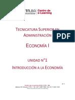 TSA - Economía 1 - Unidad 1