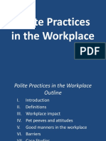 Pollite Practices in the Workplace