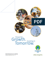 Mahanagar Gas Annual Report 2016-17