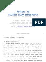 TRUSSES TIDAK SEDERHANA