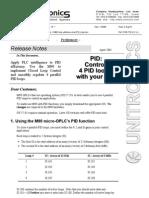 PID Help M90