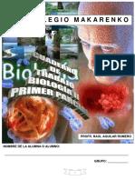 Cuaderno de Trabajo de Biolog a II