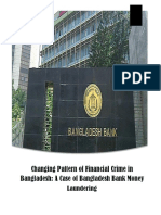 Changing Pattern of Financial Crime in Bangladesh