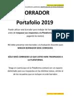 Borrador Portafolio NOTP 2019