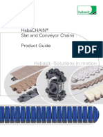 HabaCHIAN Slat Conveyor Chains