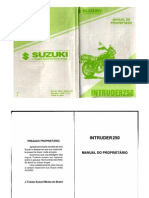 Intruder 250 Manual Do Proprietario