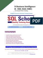 MSBI Video Training