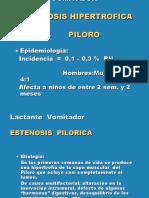 10-PILOROPESTENOSIS